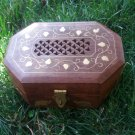 Handcrafted Octagon Wooden Box