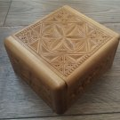 Handmade Armenian Wooden Box with Eternity Sign