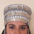 Traditional Armenian Head Decoration, Drop Coin Headpieces Decoration, Wedding Headwear, Headdress