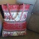 Handmade Armenian Tote Bag, Pomegranate & Armenian Alphabet Bag