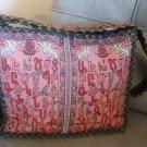 Handmade Armenian Alphabet Shoulder Bag, Armenian Handbag