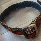 Handmade Embroidery Armenian Belt, Taraz Belt, Ethnic Belt, Traditional Carpet Rug Belt