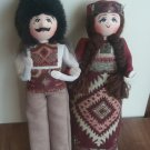 Handmade Armenian Folk Dolls, Collectable Armenian Dolls