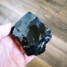 Raw Black Obsidian, Rough Obsidian, Natural Stones, Gemstone, Healing Stones, Chakra 235gr