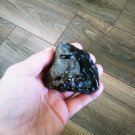 Raw Black Obsidian, Rough Obsidian, Natural Stones, Gemstone, Healing Stones, Chakra 228gr