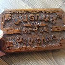Armenian Home blessing Wooden Sign with Eternity Symbol