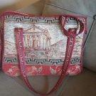 Handmade Garni & Pomegranate Shoulder Bag, Armenian Handbag