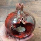 Handmade Decorated Pomegranate Candle Holder