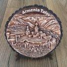 Decorative Wooden Wall Plate, Tatev Monastery Wall Plate, Armenian Scenery Hanging Plate