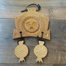 Armenian Pagan Sun Sign Display with Eternity Sign, Good Luck Sign, Armenian God of Sun