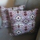 Handmade Armenian Pillow Cases, Cushion Cover, Diamond Pillows, Armenian Design