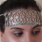 Eternity Forehead Flowery Silver Plated Drop, Armenian Headpieces Drop