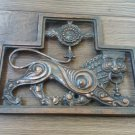 Vintage Copper Stamping Plate for the Wall, Ani Armenia Capital, Armenian Copper Plate