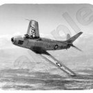 mouse pad F-86 SABRE jet fighter