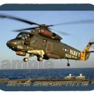 mouse pad SH-2 SEASPRITE helicopter