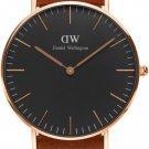 Daniel Wellington Classic Durham Unisex Wristwatch DW00100138, New with Tags