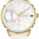 Tommy Hilfiger Brooke Ladies Wristwatch TH1782018 White Leather, New with Tags
