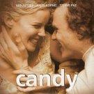 CANDY Heath Ledger Abbie Cornish Geoffrey Rush Tony Martin R2 DVD