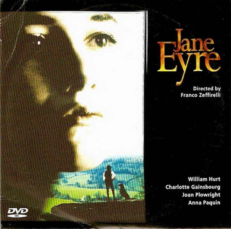 JANE EYRE William Hurt Charlotte Gainsbourg Joan Plowright Anna Paquin R2 DVD