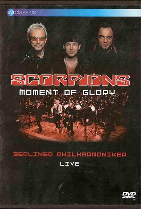 SCORPIONS Moment Of Glory DVD LIVE plus interviews RARE R2 DVD