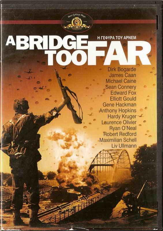 A BRIDGE TOO FAR Dirk Bogarde James Caan Michael Caine Sean Connery R2 DVD