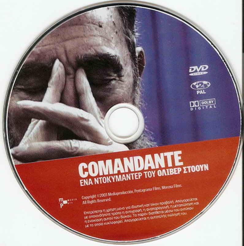 COMANDANTE Fidel Castro Cuba Oliver Stone Documentary R2 DVD