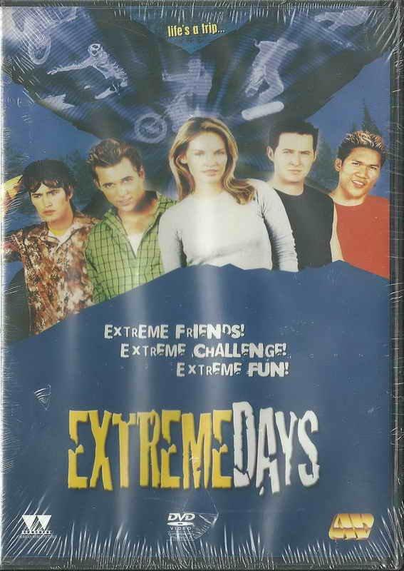 EXTREMEDAYS (2001) Dante Basco Ryan Browning A.J. Buckley Derek Hamilton R2 DVD