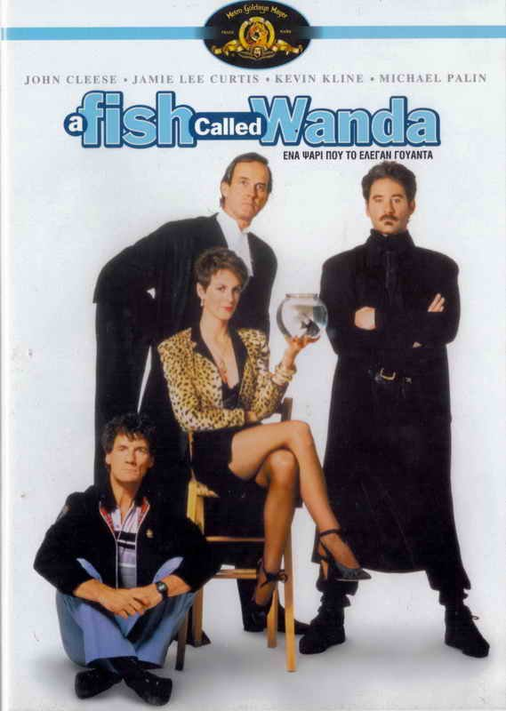 A FISH CALLED WANDA (1988) John Cleese, Jamie Lee Curtis, Kevin Kline R2 DVD
