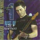 Mihalis Hatzigiannis Best of live & soundtracks cd1 10 tracks Greek CD