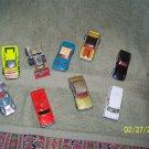 lot of {9} vintage matcbox cars & trucks