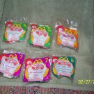 bundle of {6} collectable  mcdonalds nascars diecast