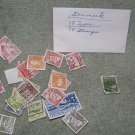 packett of vintage postage stamps