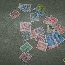 vintage postage  stamps world wide