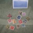 vintage postage stamps worldwide