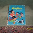 little golden book  mickey mouse