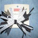 Black & White Flash Bow
