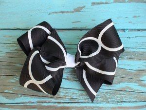 Black & White Bow