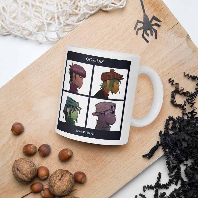 GORILLAZ  COFFEE MUG
