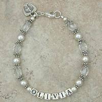 Mommy Bracelets: Love Prints