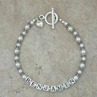 Mommy Bracelet: Decorative Pearl