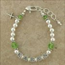 Baby Bracelet: Green with Envy