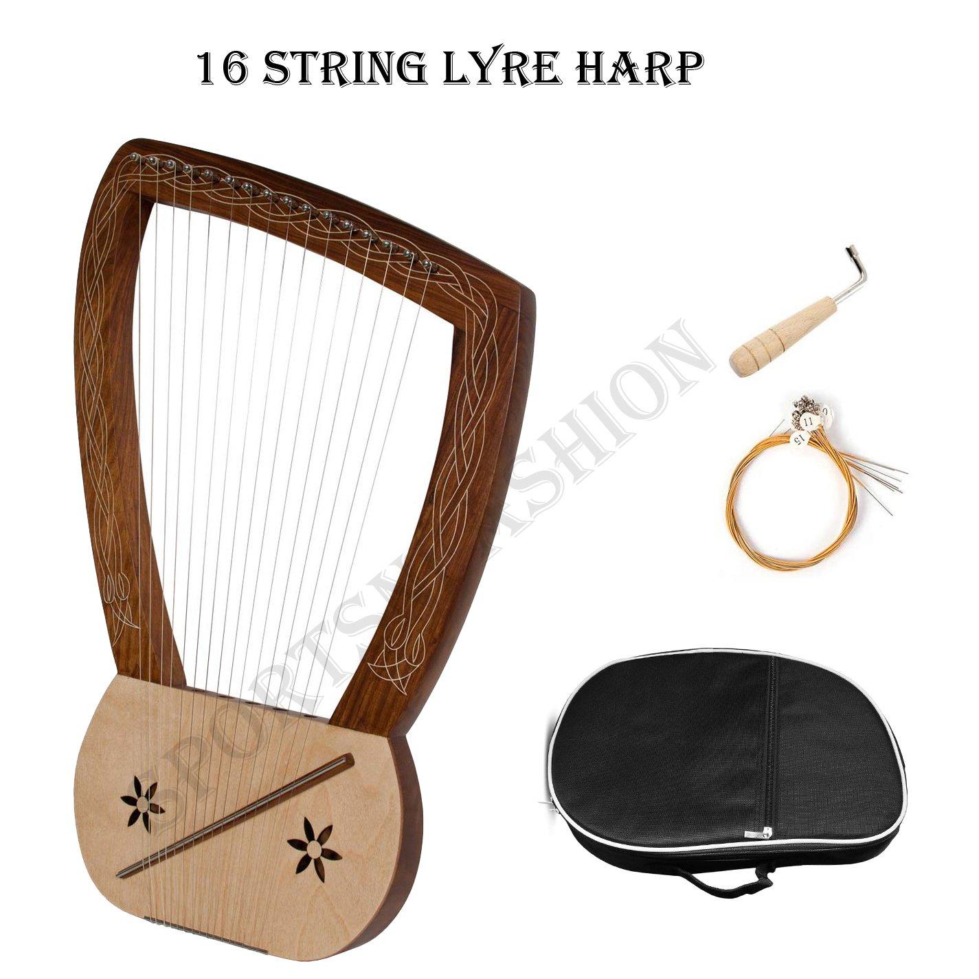 Lyre Harp 16-String