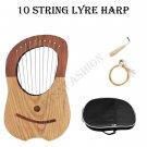 Traditional Irish Lyre Harp 10 Metal String Free String Set
