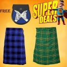 Super Deal Two Tartan kilt with free Sporran