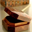 Luxury Personalised Jewellery organizer, wooden Jewellry gift box.