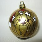NEW HANDPAINTED YORKSHIRE TERRIER SANTA CLAUS UNBREAKABLE CHRISTMAS BALL ORNAMENT