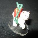 VINTAGE 1990 HALLMARK LITTLE HUSKY CHRISTMAS TREE ORNAMENT