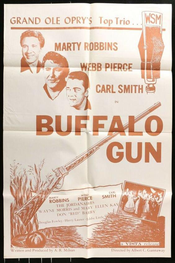 BUFFALO GUN 1961 VERY RARE WESTERN ADVENTURE ON DVD !