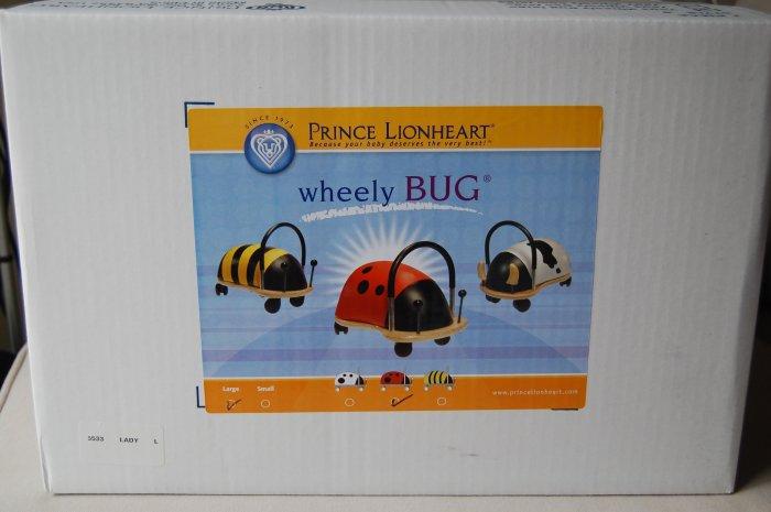 Brand New Wheely Bug Lady Bug Award Winning Toy