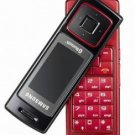 Samsung F200 Red Triband Unlocked Gsm Phone